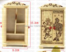 1:12 Cute Dollhouse Miniature  furniture wardrobe