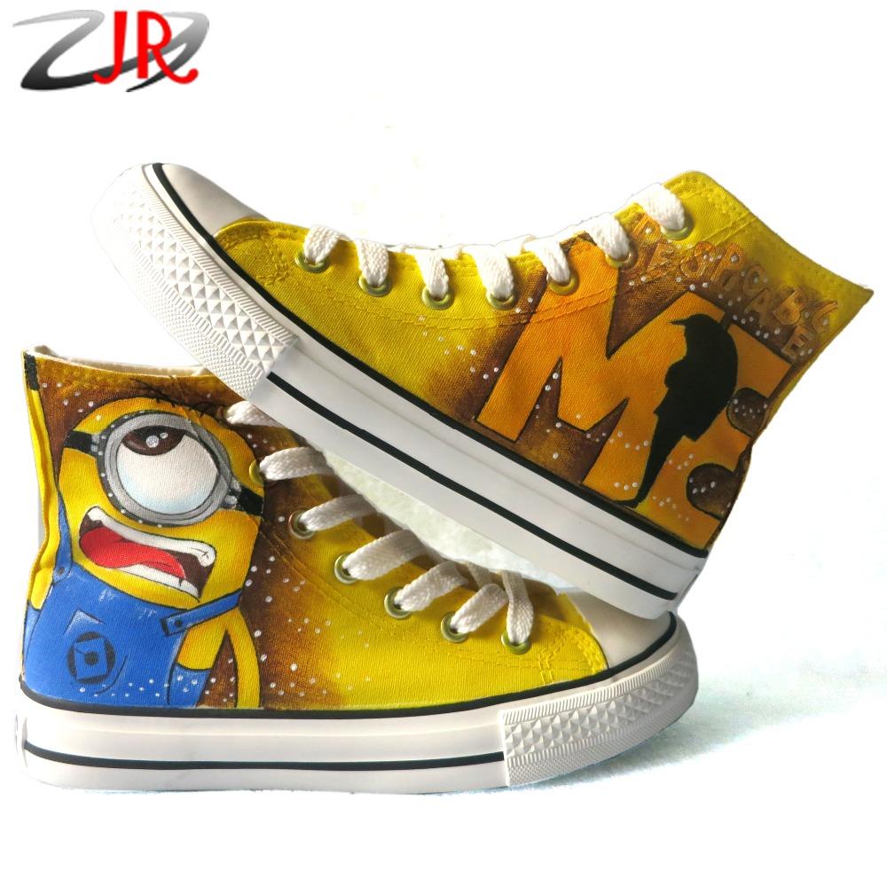 Minion High Top Shoes