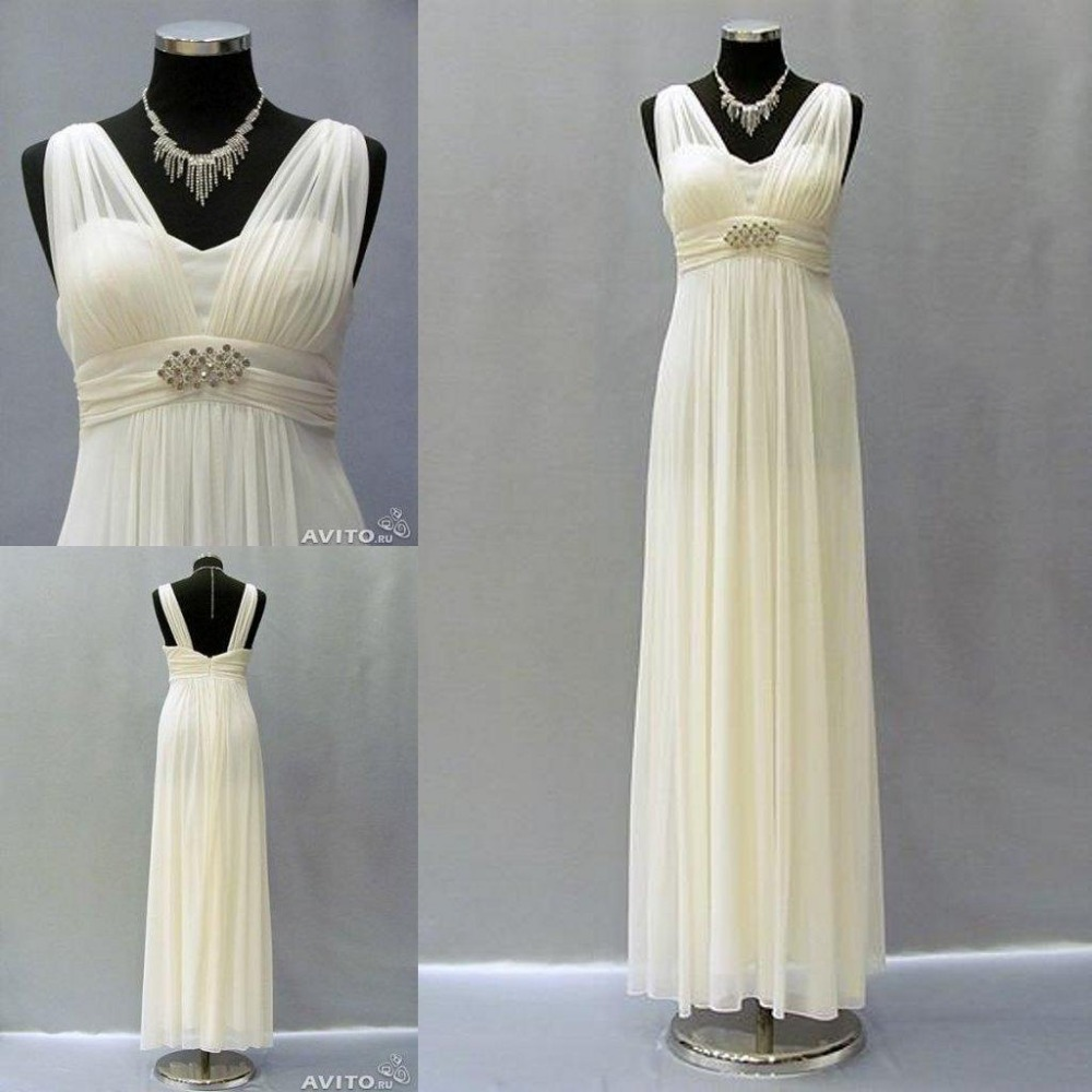 Custom Made Wedding Dress Greek Inspired: Real Pictures Greek Style Wedding Dresses 2016 Robe De
