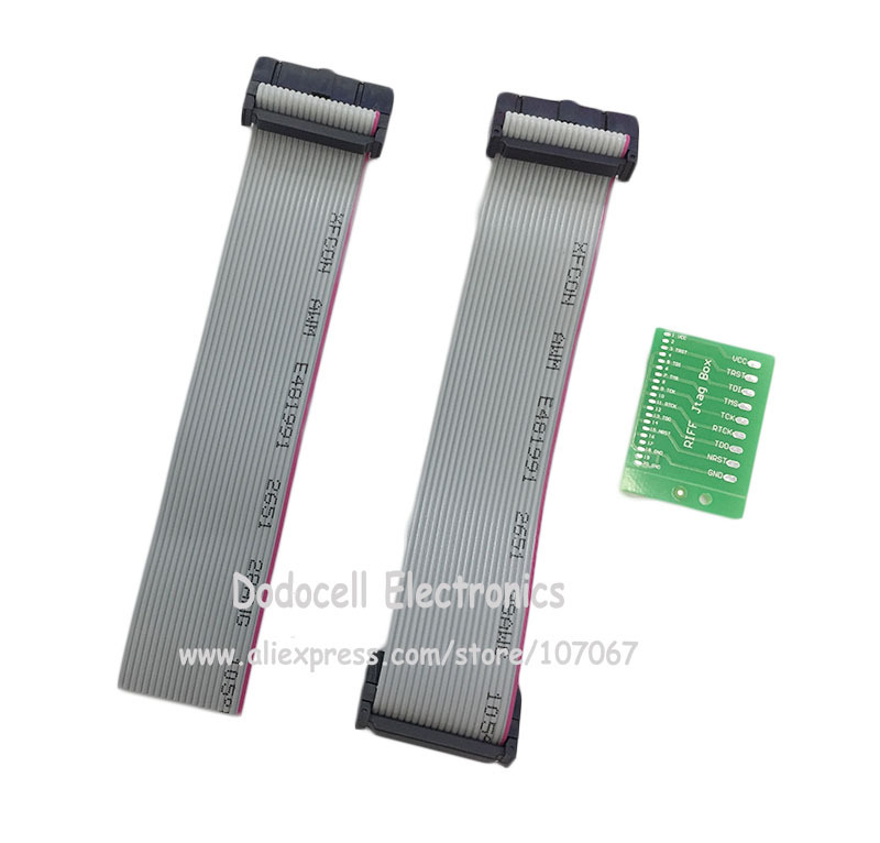 10sets/lot Flex Cable With PCB board For RIFF box/Z3X easy