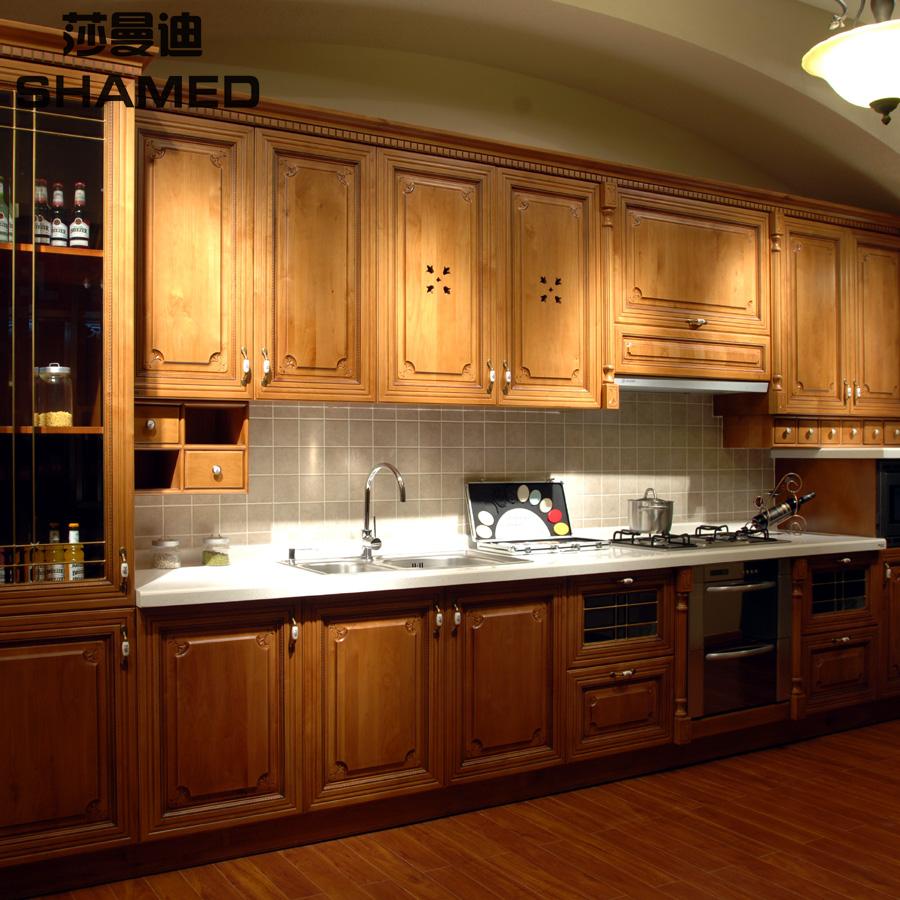 Chinese Kitchen Cabinets: Kitchen Cabinet Modular Kitchen Cabinet Customize Rosewood