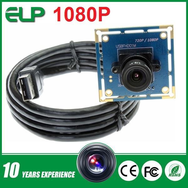 1080p hd mini micro camera mjpeg usb2 0 uvc webcam module ELP-USBFHD01M-L36