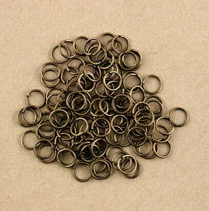 Approx 680pcs lot Metal Ring jump rings 0 7X8MM Dia Findings FQA004 77