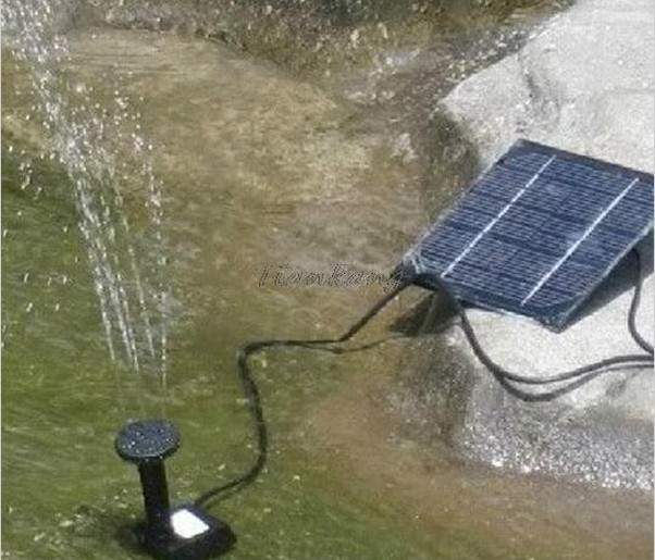 High Quality New Mini Solar Power Submersible Water Pump