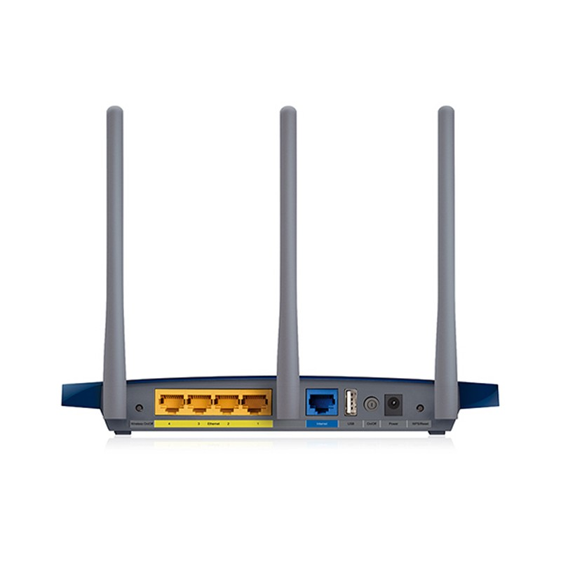 Wireless router TP-LINK TL-WR1043ND NAS wall Wang wifi,English firmware