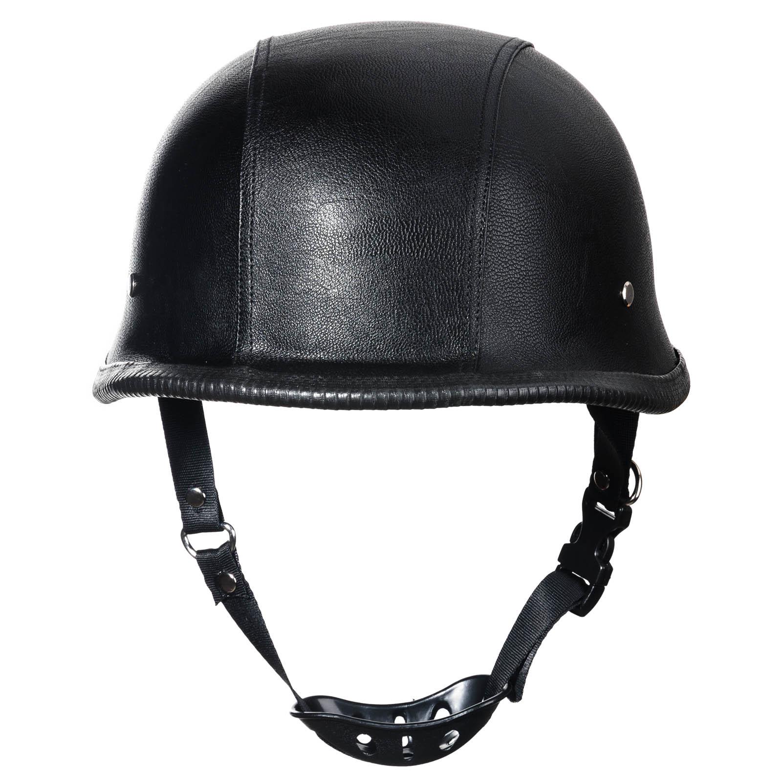 2016 new wwii german style dot motorcycle helmet black. Black Bedroom Furniture Sets. Home Design Ideas