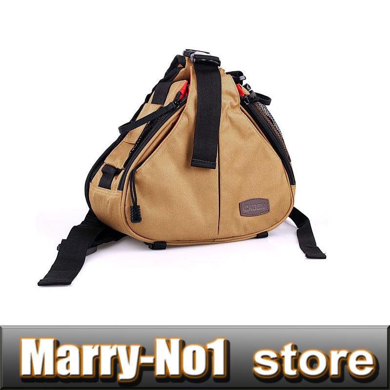 Khaki Caden K1 Waterproof Messenger Shoulder Camera Bag Video Portable Diagonal