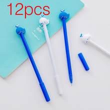 12 шт. креативный кулон корейские канцелярские пончики конфетная гелевая ручка 0,38 мм студенческие ручки Канцтовары Kawaii школьные принадлежн...(Китай)