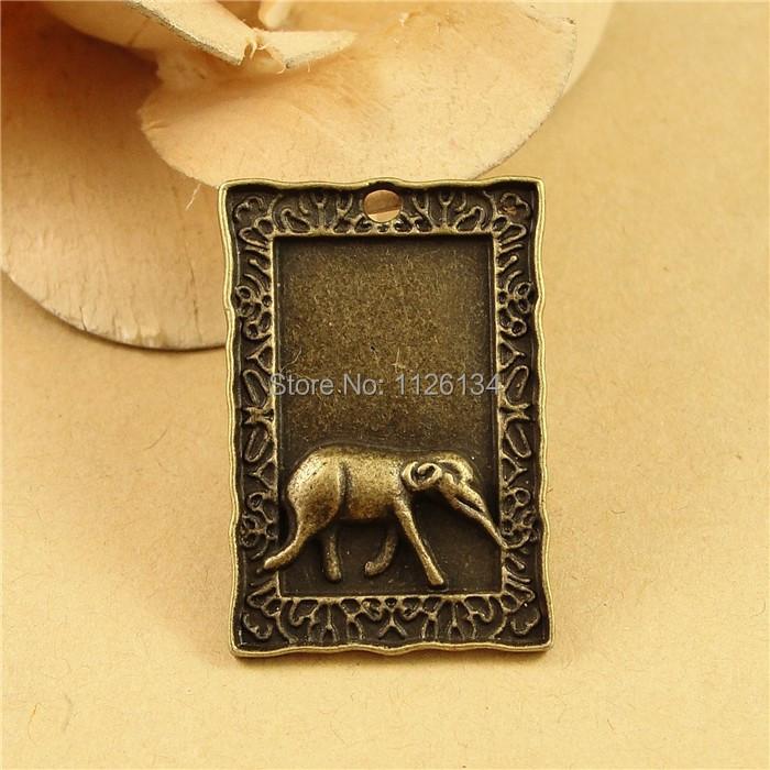 Vintage Inspired Home Decor Wholesale: Wholesale Vintage Style Plate Antique Bronze Elephant