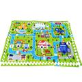 60 60cm 6pcs Baby Puzzle Play Mat Educational Split Joint EVA Foam Crawling Pad Game Carpet