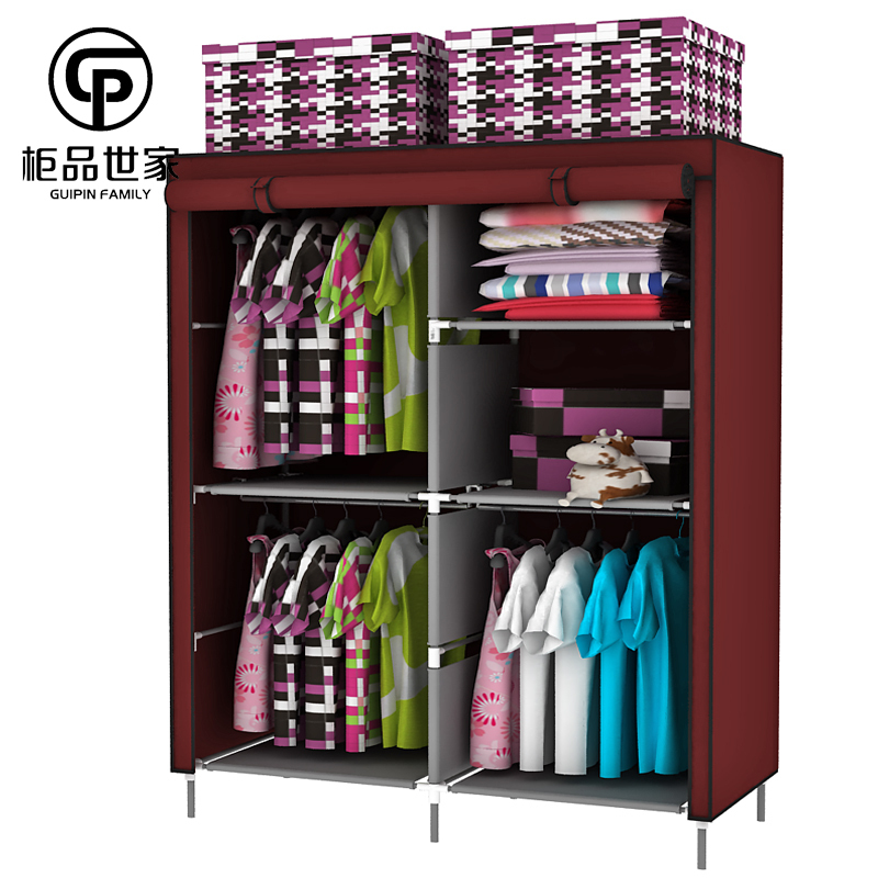 18 Classy Closet Storage Solutions For Your Clothes: Wonderous Portable Closet Solutions