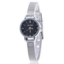Женские кварцевые часы DUOBLA, маленькие наручные часы с Круглым Циферблатом из серебристой нержавеющей стали, наручные часы reloj mujer z70(Китай)