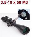 Rifle Scope Mark 3 5 10X50 M3 Hunting Riflescope Glass Mil Dot Red Green Illuminated Top