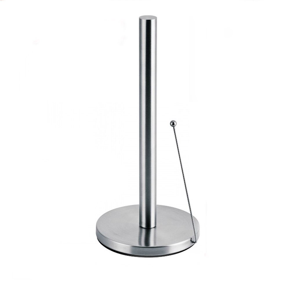 Paper Towel Holder Countertop: Free Shipping Stainless Steel Upright Paper Towel Holder