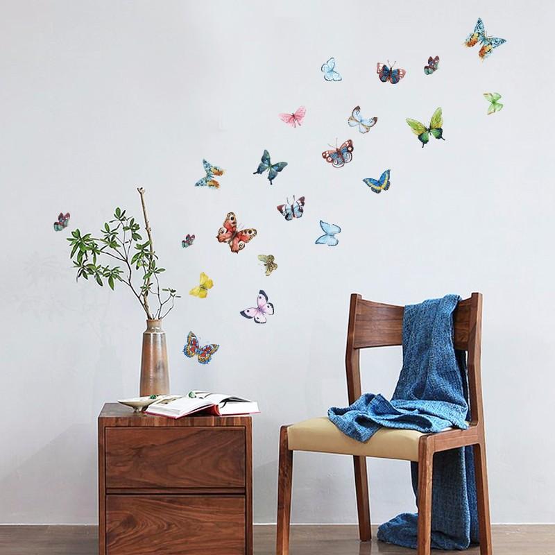 Flower Wall Sticker 3D
