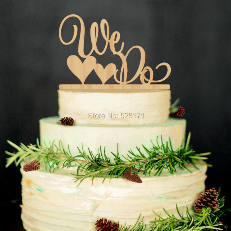 2019 Eco Friendly Wedding We Do Mr Mrswooden Cake Topper Rustic Wedding Cake Stand Natural Wood Toppers From Likejason 24 47 Dhgate Com