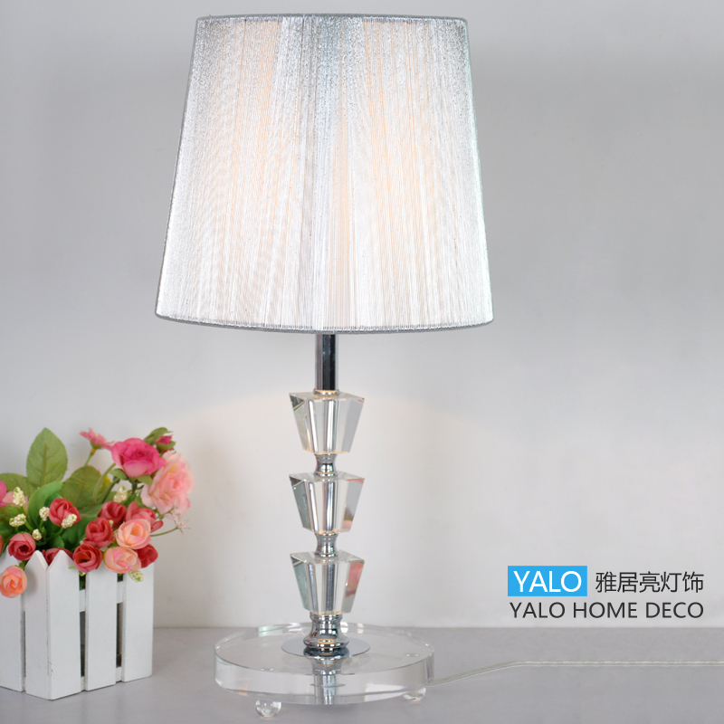 Table Lamps For Living Room Fionaandersenphotographycom: Fashion-crystal-table-lamp-ofhead-black-living-room-lamps