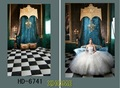 5 7ft Wedding castle retro background vinyl photo studio photograph background for backdrop newborn photography props