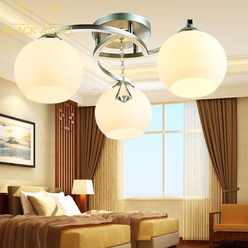 2017 modern ceiling lights for living room 3 lights flush mount ceiling light fixture chromefinish - Flush Ceiling Lights Living Room