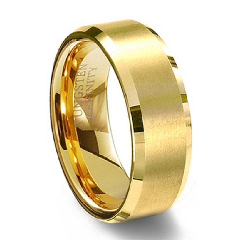 Aliexpress Com Buy 8mm Women Men S 18k Gold Plated