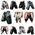 Mens MMA Shorts MMA fight trunks martial arts seen Pretorian boxing Sanda Muay Thai Shorts mma