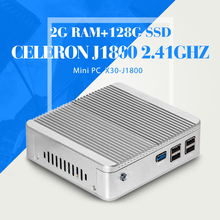 N2830 N2930 J1800 2G RAM 128G SSD WIFI Desktop Computer Thin Client Support Hd Video Smallest Computer Tablet Support VGA/HDMI