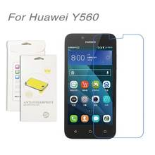 For Huawei Y560,3pcs/lot High Clear LCD Screen Protector Film Screen Protective Film Screen Guard For Huawei Y560