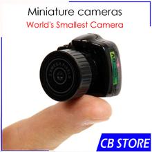 Smallest Mini Camera DVR Portable Pinhole Web cam Camcorder Video Recorder Cool mini camcorders/SPY y2000 Hidden cam