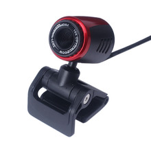Beautiful Gift New USB 2.0 HD Webcam Camera Web Cam With Mic For Computer PC Laptop Desktop Free Shipping Dec25