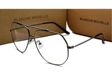 Оправа для очков унисекс из нержавеющей стали UV400, оправы для очков, прозрачные очки для женщин и мужчин, оптические Золотые очки, прозрачные...(Китай)