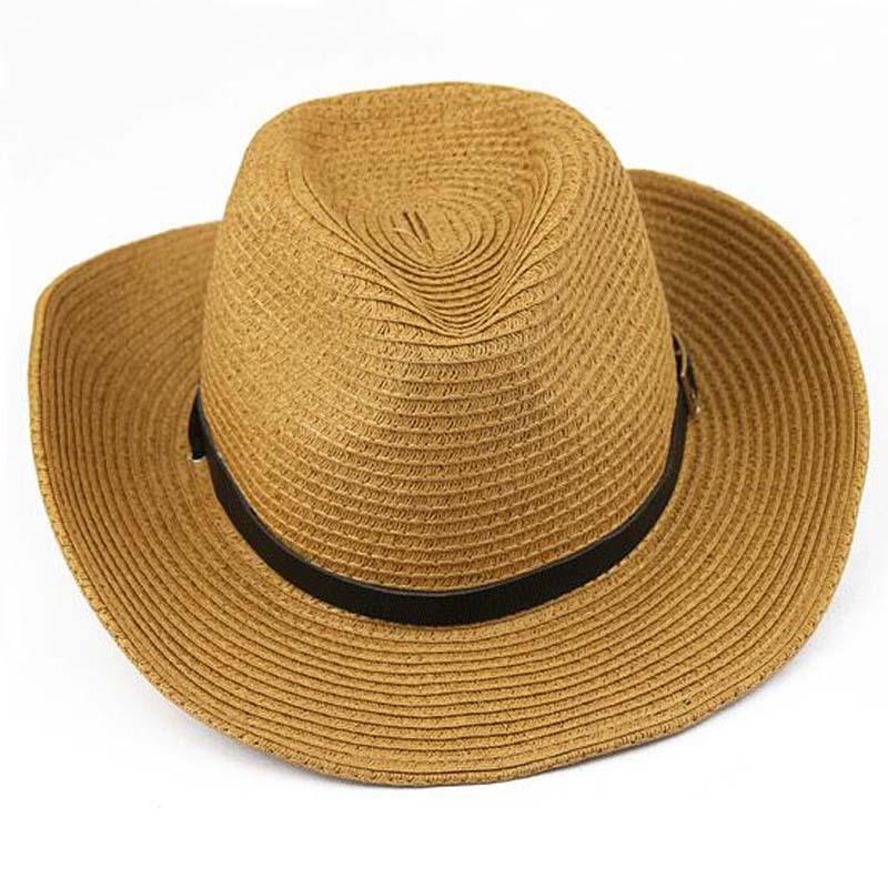 Compra sombreros de paja para hombre online al por mayor