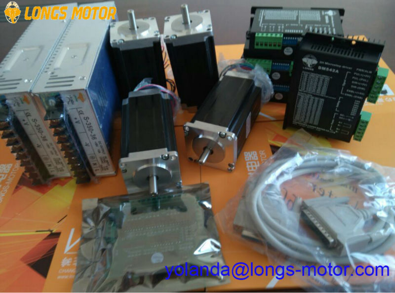 EU Free shipping[3-7days ship] Stepper Motor 4axis nema23 23HS9442  Axis Dm A Wiring Diagram Db on
