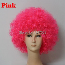 free shspping Heat Resistant Synthetic Afro Wig Fans party wig