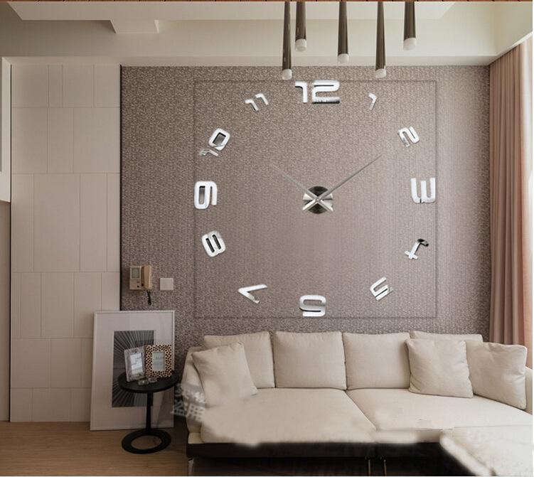 horloge murale moderne salon id es de design d 39 int rieur et de meubles. Black Bedroom Furniture Sets. Home Design Ideas