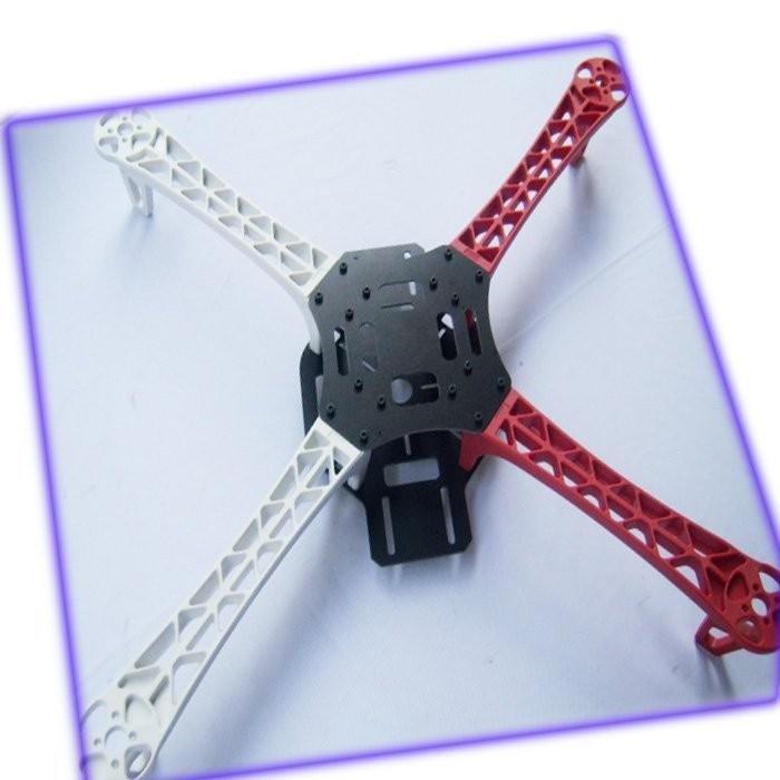 F07468-B Drone F450 FlameWheel KIT+ High Landing Gear + T Plug Male Connector +