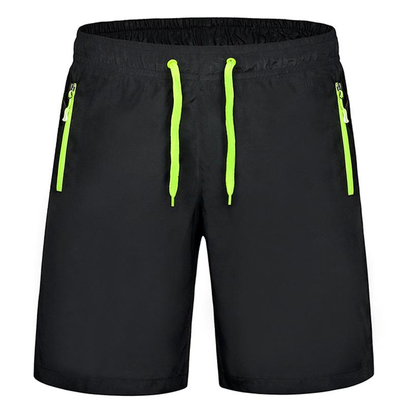 Fashion Zipper Pocket Beach Shorts Men Summer 4xl Casual ...