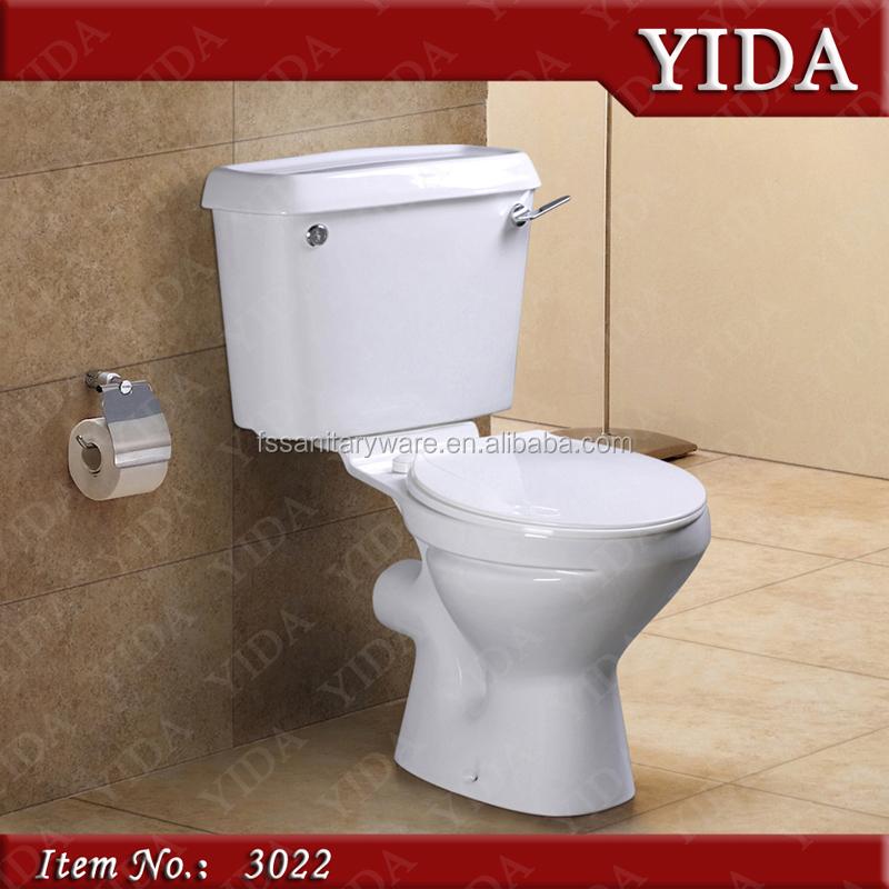Twyford Water Closet Ghana Toilet Bowl Two Piece Economic