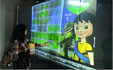 19 inch capacitive touch foil ,touch screen film, 2 points interactive touch foil