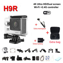go pro style H9R Ultra HD 4K WiFi sport Camcorder 170 wideangle lens 2 inch screen 30 meters waterproof With remote control DV