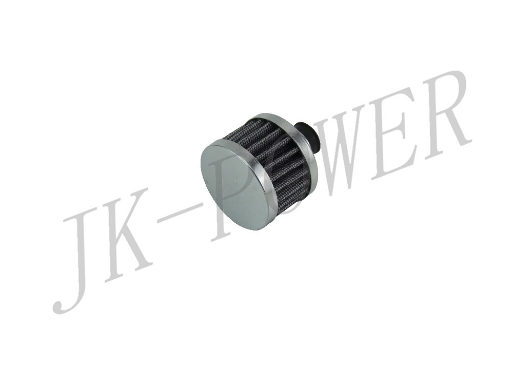 Производительность вентиляционные вентиляция картера воздушный фильтр 12 мм круглый серебряный автомобилей конуса холодного воздуха фильтр