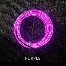 Гибкий светодиодный свет пробки, 1 м, 2 м, 4 м, 3 м, 5 м Светодиодные ленты Водонепроницаемый EL трос лента кабель светящиеся неоновые световые ла...(Китай)