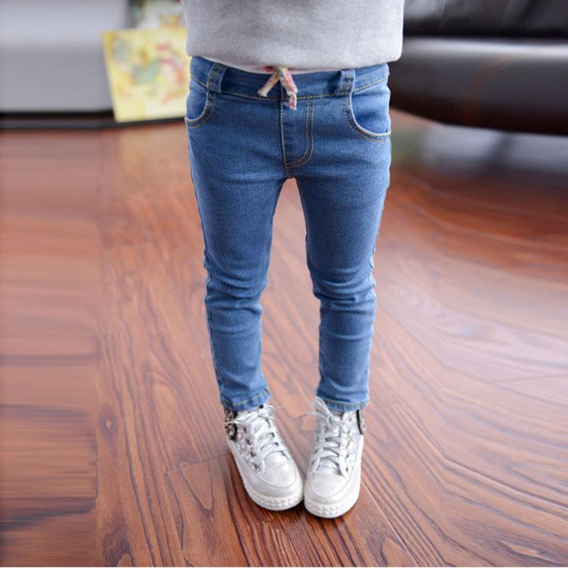 best loved ffcc8 2a96a ... Дети брюки 2016 новых бренда весна джинсы дети девушки KD 8 высокое  качество 2 - 10 ...