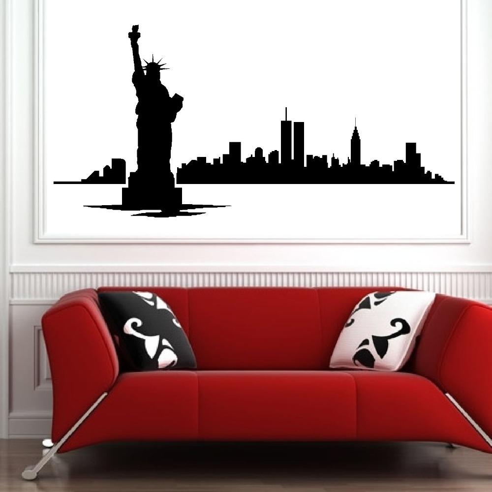 Vinilo Decoraci Ef Bf Bdn Pared New York