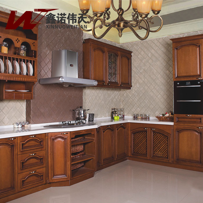 Fashion Classical Corner Overall Kitchen Cabinet Customize