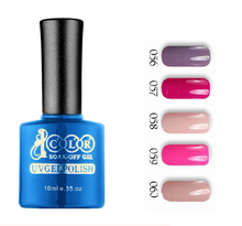 6pcs Color 1000 UV LEDgel 10ml 75 colors for choices in feifan