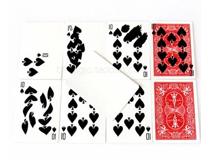 Free shipping fast Card Printing super print cards magic tricks