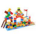 120 PCS Children s Playground Building Model Blocks Toys Educational Toy for Kids Compatible with LEGOs