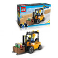 115pcs set Forklift Trucks Model Educational Puzzle Construction Bricks Building Blocks Toy Kit