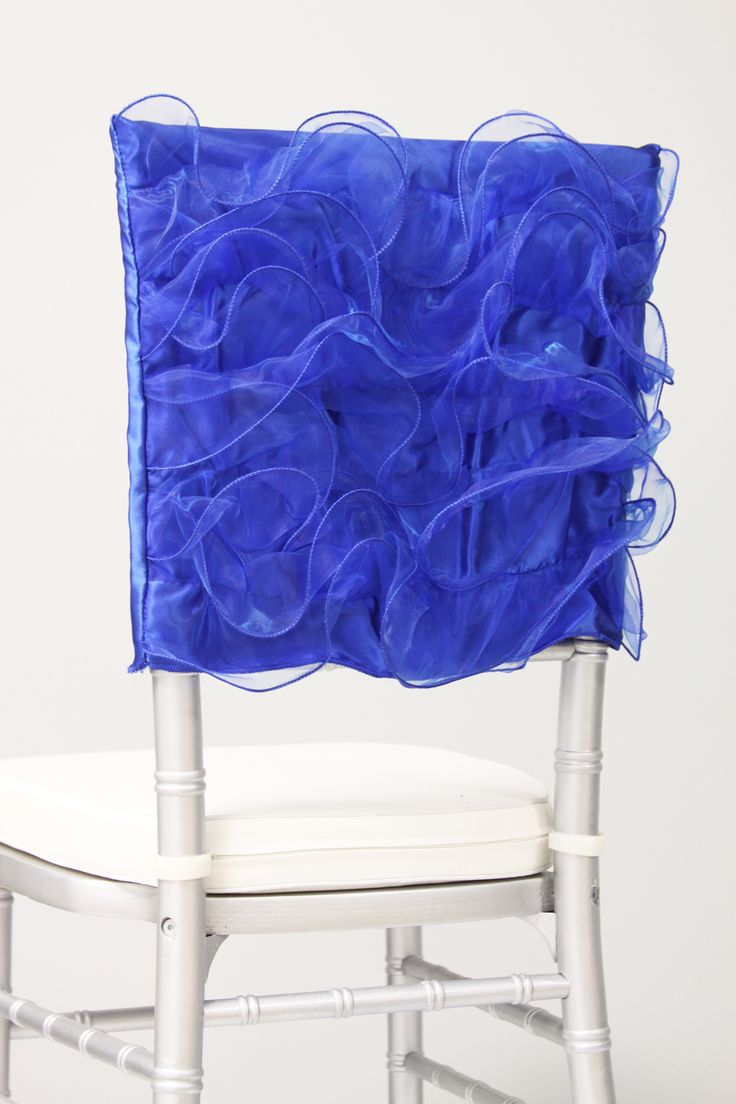 Royal Blue Chair Decor Pink Living Room: Free-shipping-royal-blue-organza-chair-cover-for-weddings