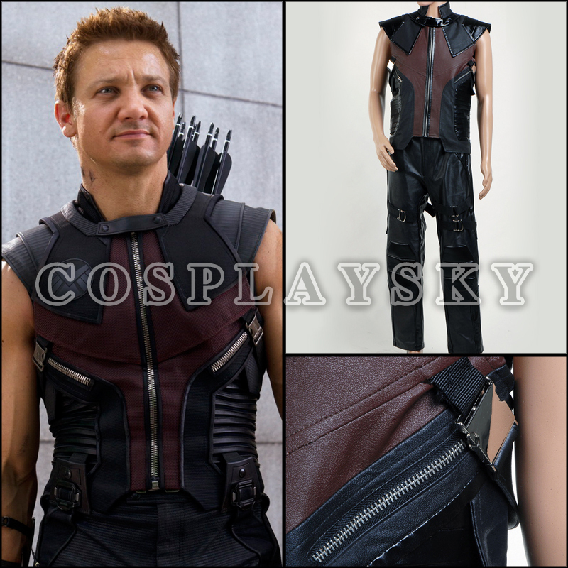 The Avengers Hawkeye Uniform Movie Cospaly Costume ...